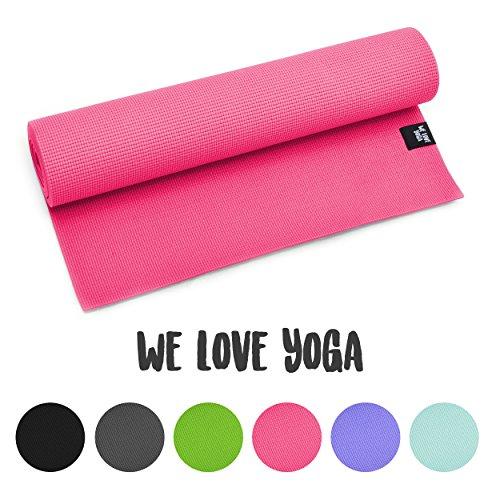 yogamatte we love yoga 180cm 6mm dicke extrem. Black Bedroom Furniture Sets. Home Design Ideas