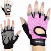 Fitness-Sport-Handschuhe für Krafttraining und Bodybuilding Rot//Schwarz XL